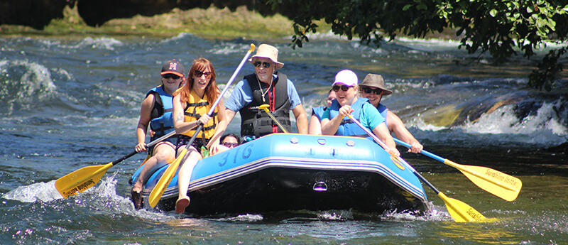 Knights Ferry Rafting